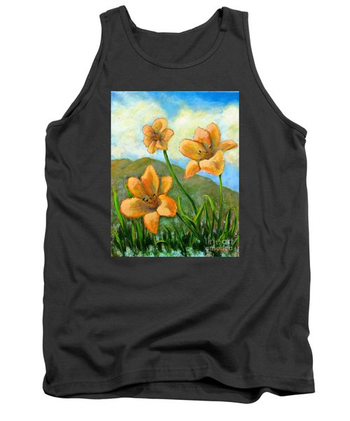 Morning Glow Tank Top by Laurie Morgan