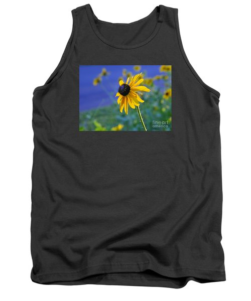 Tank Top featuring the photograph Morning Light by Nava Thompson