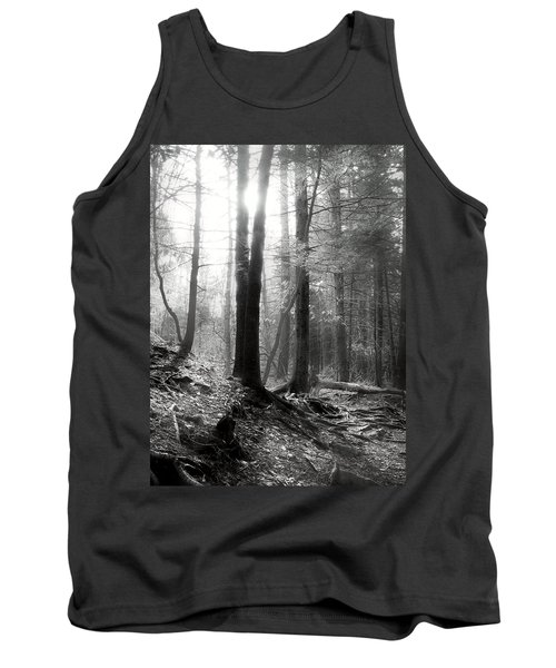 Tank Top featuring the photograph Morning Sun by Mary Almond