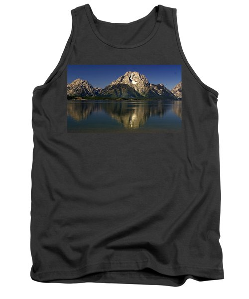 Tank Top featuring the photograph Moujnt Moran 5 by Marty Koch