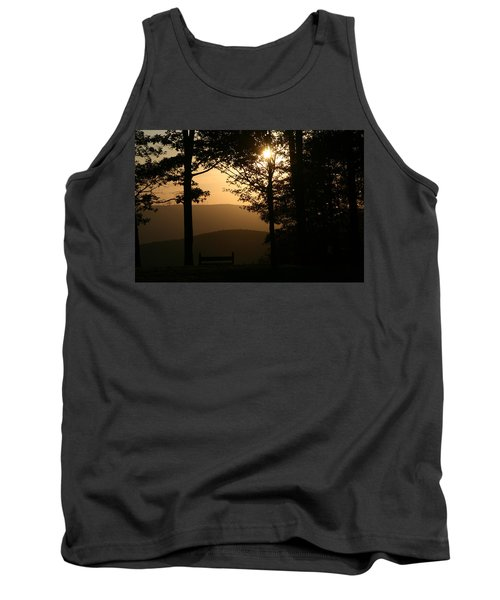 Mt Pisqah Sunset Tank Top