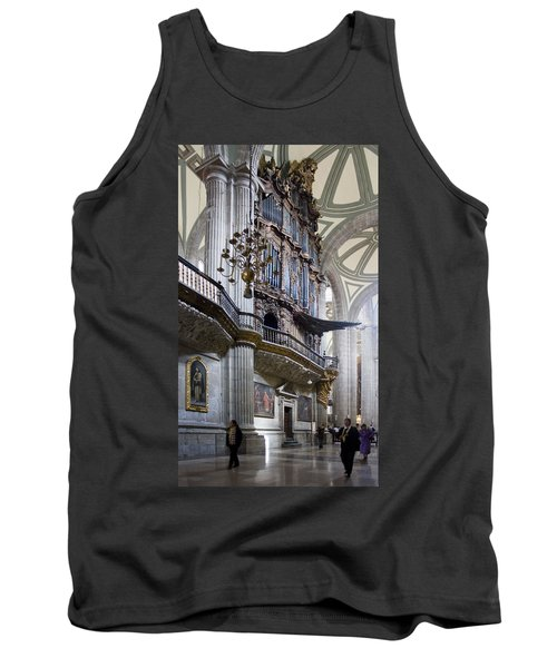 Tank Top featuring the photograph Music On High by Lynn Palmer