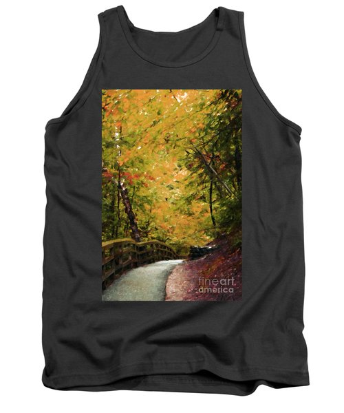 Tank Top featuring the photograph Nature In Oil  by Deniece Platt