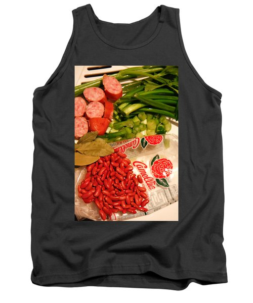 New Orleans' Red Beans And Rice Tank Top