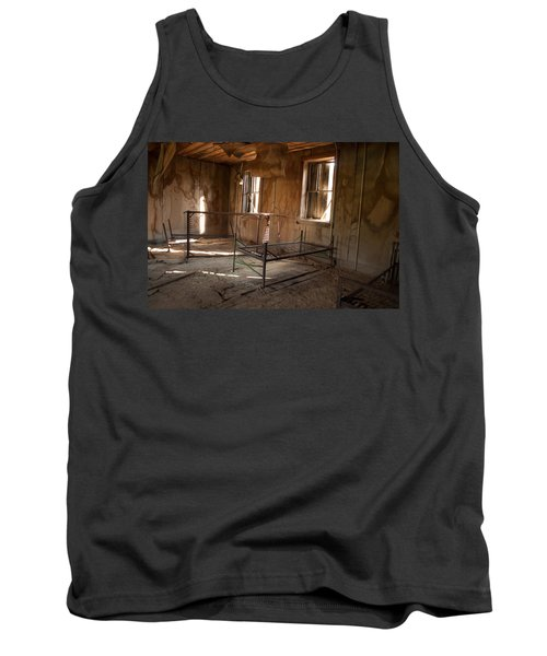 Tank Top featuring the photograph No More Time To Sleep by Fran Riley