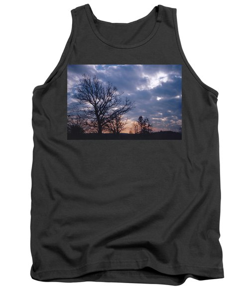 Oak In Sunset Tank Top
