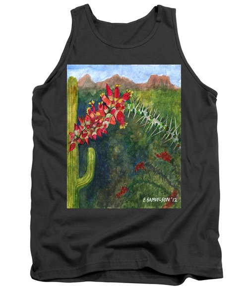 Ocotillo Spring Tank Top