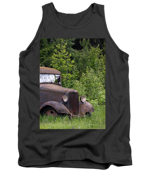 Tank Top featuring the photograph Old Classic by Steve McKinzie