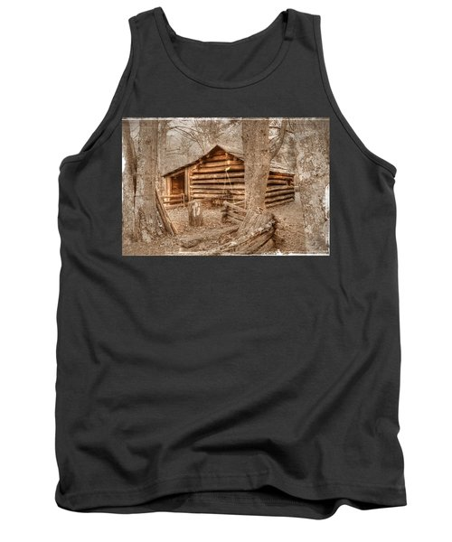 Old Mill Work Cabin Tank Top by Dan Stone
