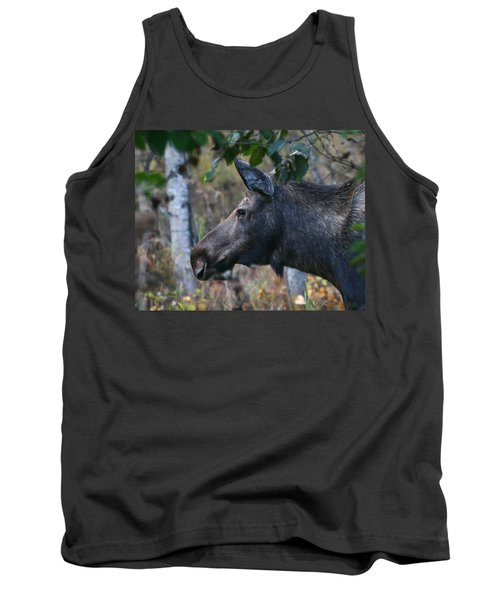 Tank Top featuring the photograph On Alert by Doug Lloyd