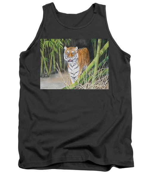 On The Prowl  Sold Prints Available Tank Top