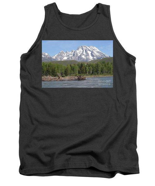 Tank Top featuring the photograph On The Snake River by Living Color Photography Lorraine Lynch