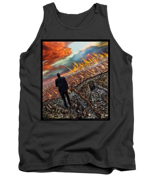One Percent  Tank Top by Tony Koehl