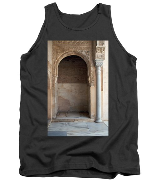 Ornate Arch And Pillar Tank Top
