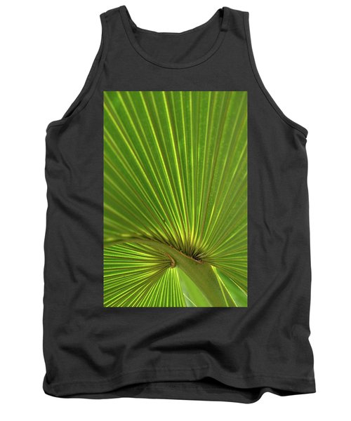 Palm Leaf Tank Top