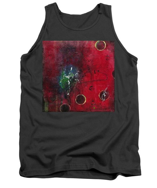 Tank Top featuring the painting Passion 2 by Nicole Nadeau