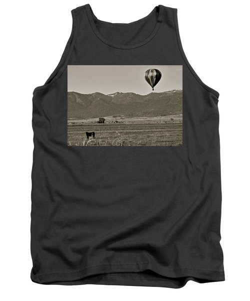 Tank Top featuring the photograph Pastoral Surprise by Eric Tressler
