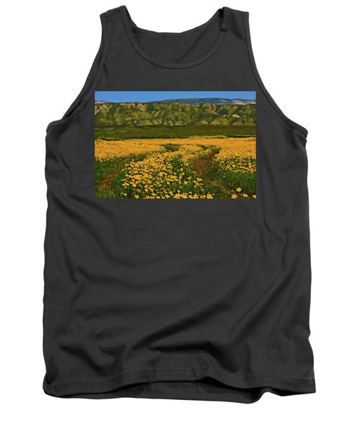 Path Through The Wildflowers Tank Top