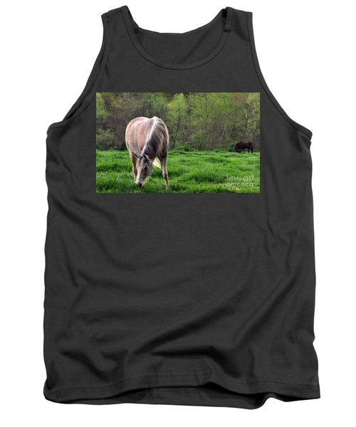 Tank Top featuring the photograph Peaceful Pasture by Lydia Holly