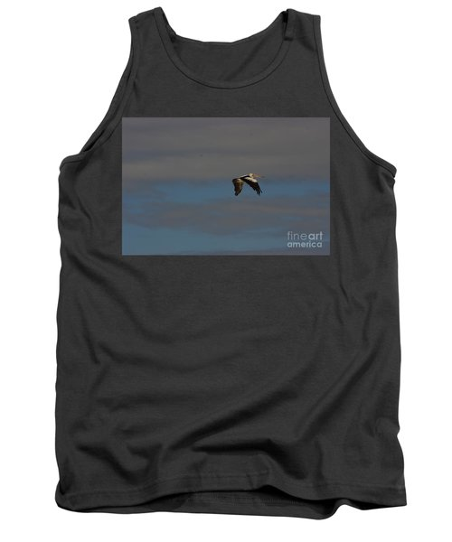 Tank Top featuring the photograph Pelican In Flight 4 by Blair Stuart