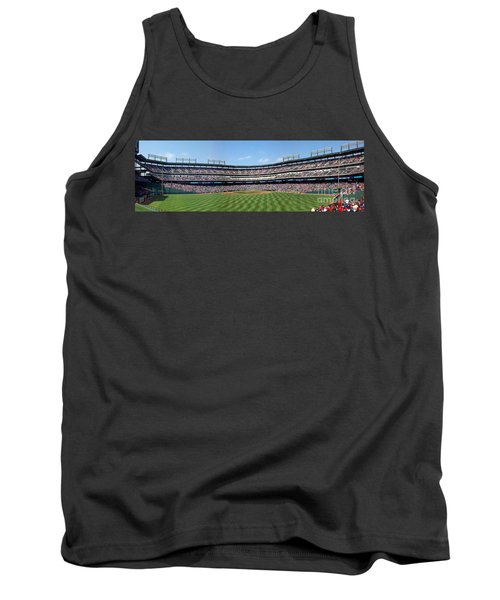 Globe Life Park, Home Of The Texas Rangers Tank Top