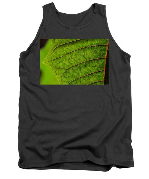 Poinsettia Leaf I Tank Top