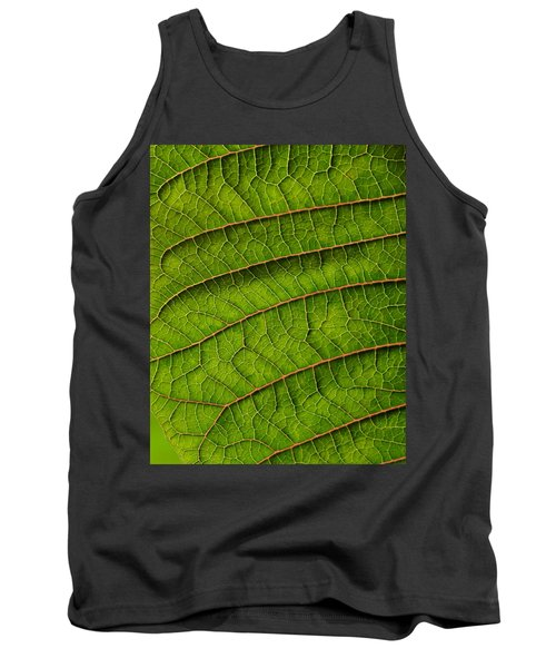 Poinsettia Leaf II Tank Top