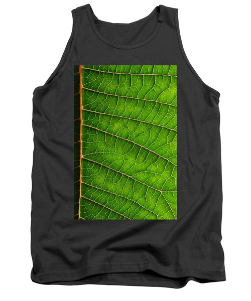 Poinsettia Leaf IIi Tank Top