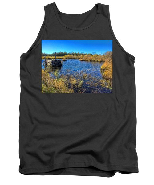 Pond 1 Today.psd Tank Top