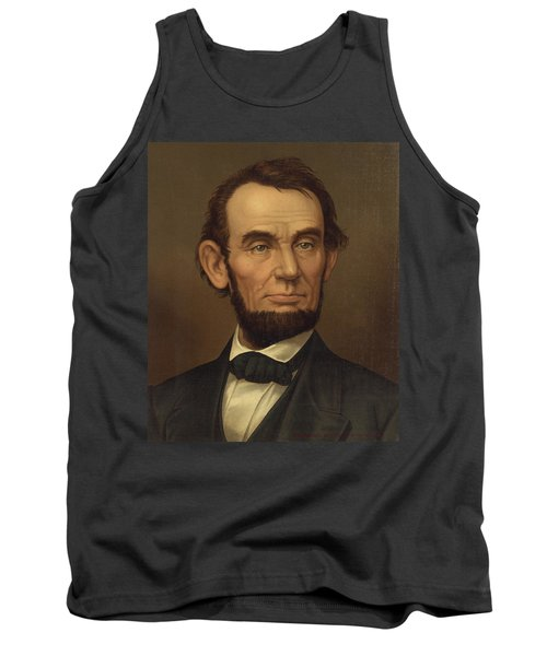 Tank Top featuring the photograph President Of The United States Of America - Abraham Lincoln  by International  Images