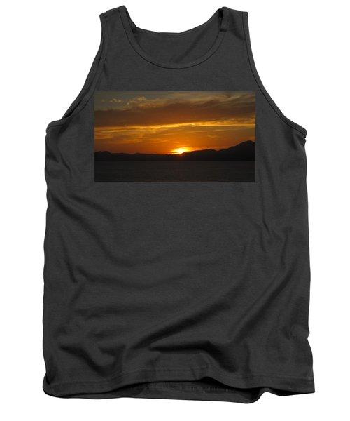 Tank Top featuring the photograph Puerto Vallarta Sunset by Marilyn Wilson