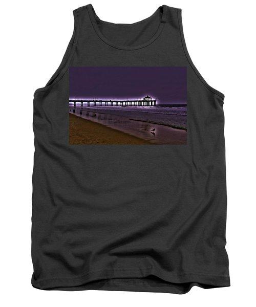 Purple Dawn Tank Top