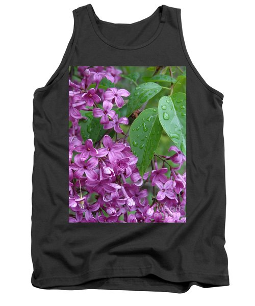 Purple Lilac Tank Top by Laurel Best
