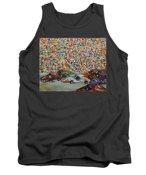 Race Day Tank Top by Judith Rhue
