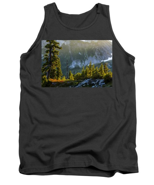 Tank Top featuring the photograph Rare Sunset by Albert Seger