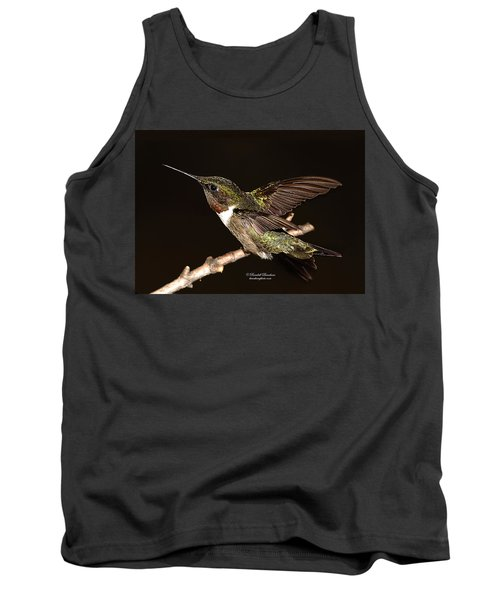 Tank Top featuring the photograph Ready Set Go Hummer by Randall Branham