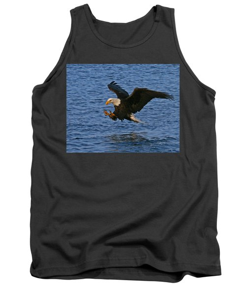 Tank Top featuring the photograph Ready To Strike by Doug Lloyd