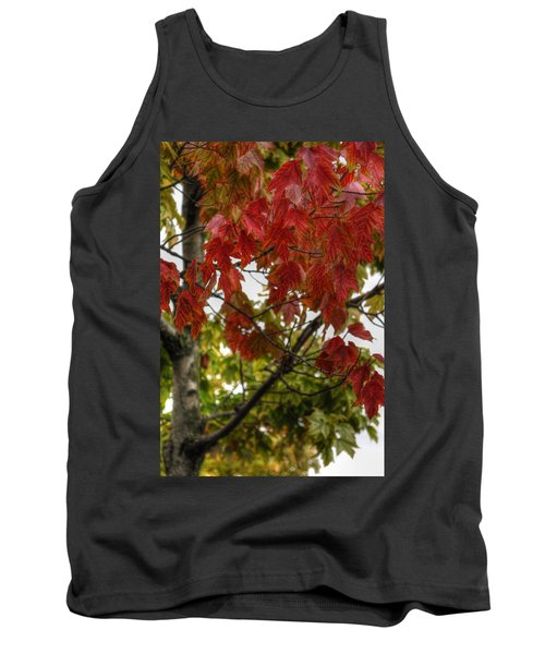 Tank Top featuring the photograph Red And Green Prior X-mas by Michael Frank Jr
