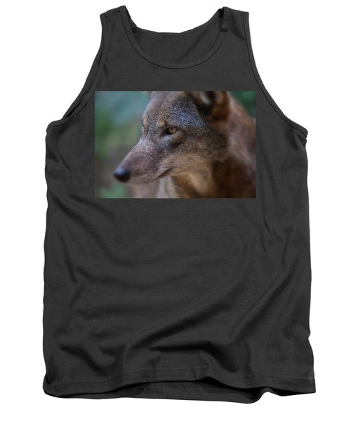 Red Wolf Stare Tank Top