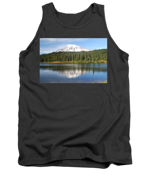 Reflection Lake - Mt. Rainier Tank Top