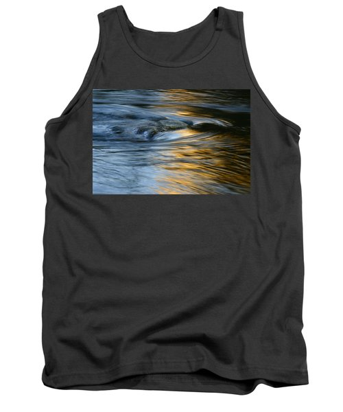 Rock And Blue Gold Water Tank Top