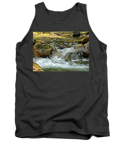 Tank Top featuring the photograph Rocky River by Lydia Holly