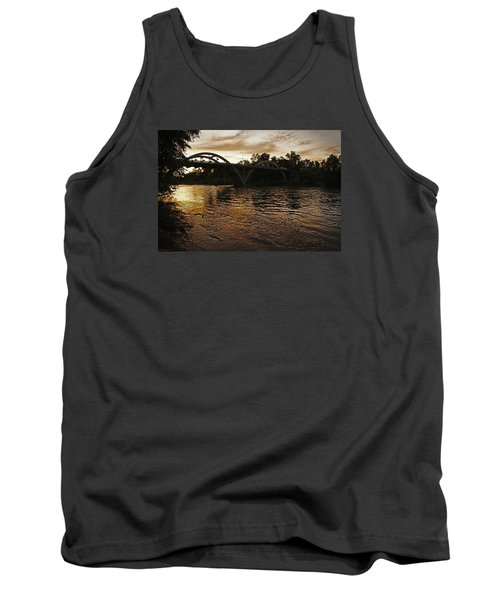 Rogue River Sunset Tank Top by Mick Anderson