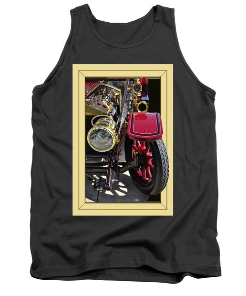 Tank Top featuring the photograph Rolls Out by Larry Bishop