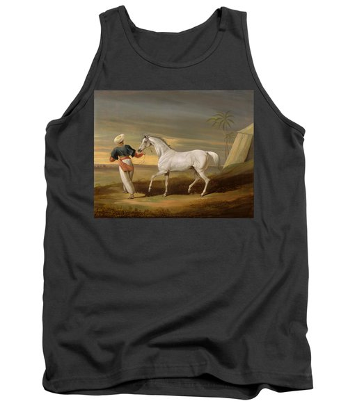 Signal - A Grey Arab With A Groom In The Desert Tank Top
