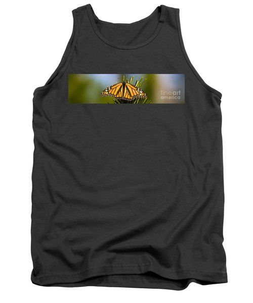 Single Monarch Butterfly Tank Top by Darcy Michaelchuk