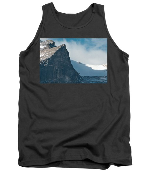 Snowy Flatirons Tank Top by Colleen Coccia