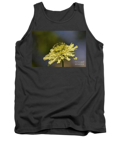 Tank Top featuring the photograph Soft Yellow. by Clare Bambers