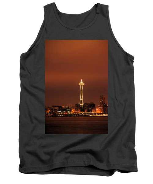 Space Needle Morning Tank Top