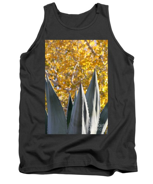Spikes And Leaves Tank Top